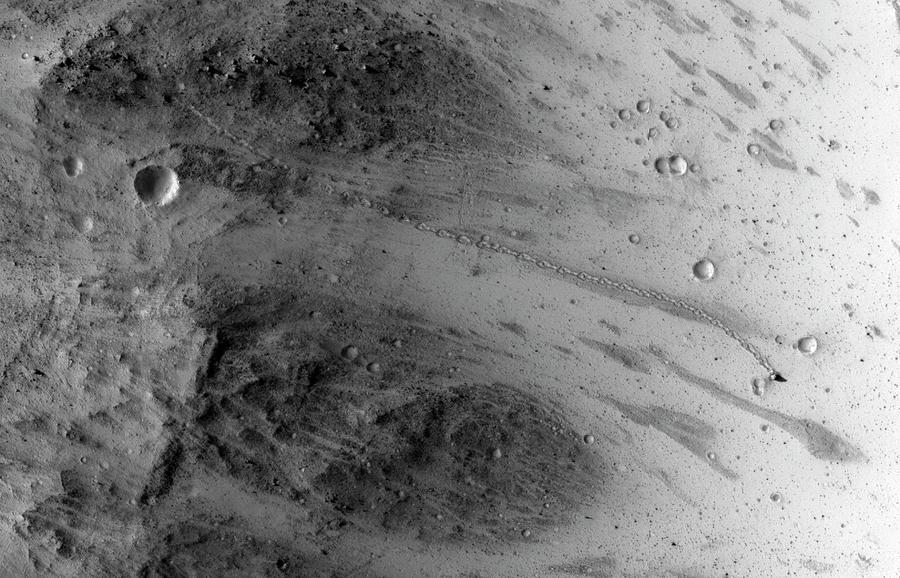 21st Century Photograph - Boulder On Mars by Nasa/jpl-caltech/univ. Of Arizona
