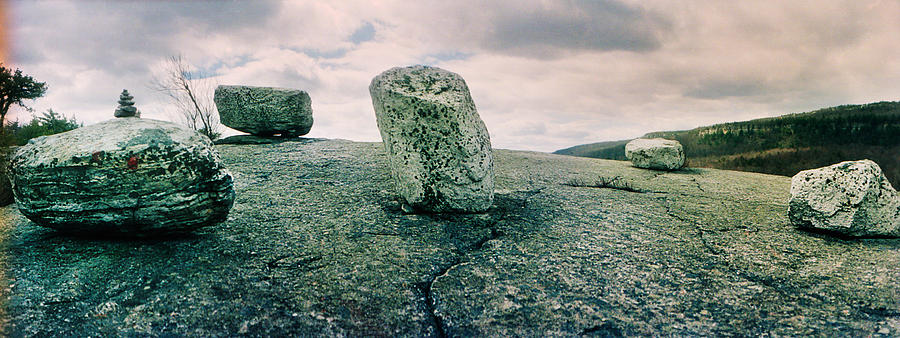 Color Image Photograph - Boulders Along The Gertrudes Nose by Panoramic Images