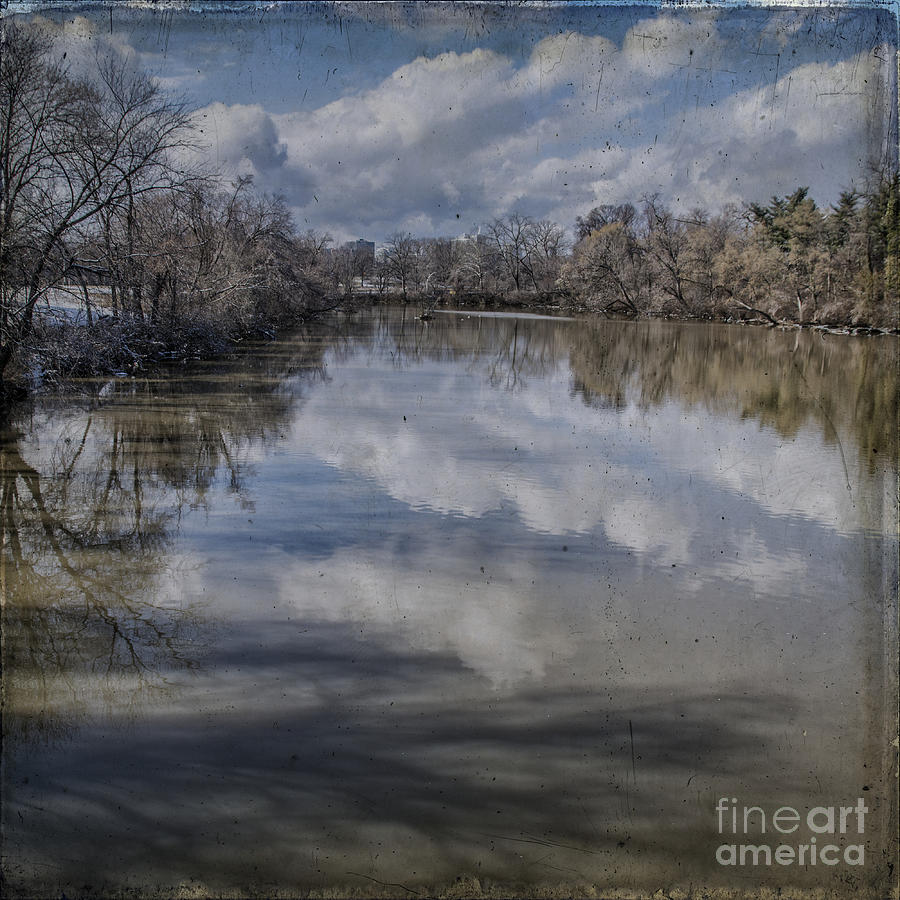 Boundary Channel Photograph - Boundary Channel Reflections by Terry Rowe