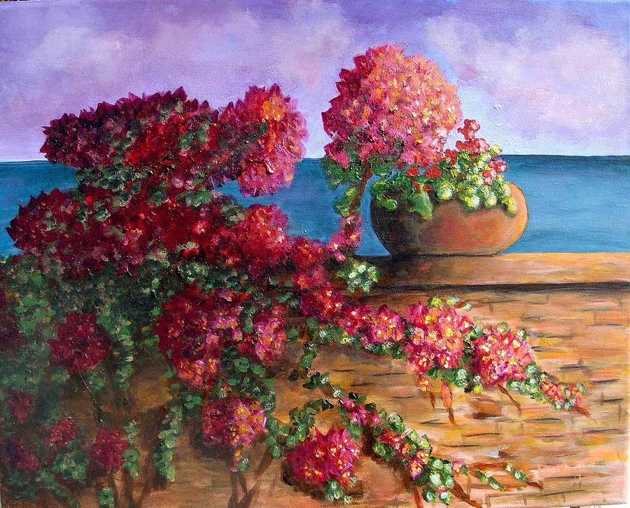 Bountiful Bougainvillea Painting by Laurie Morgan fb6ee2cf2
