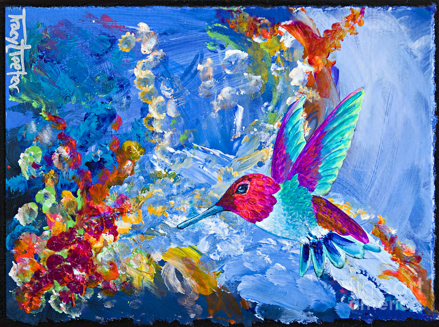 Hummer Painting - Bounty by Tracy L Teeter