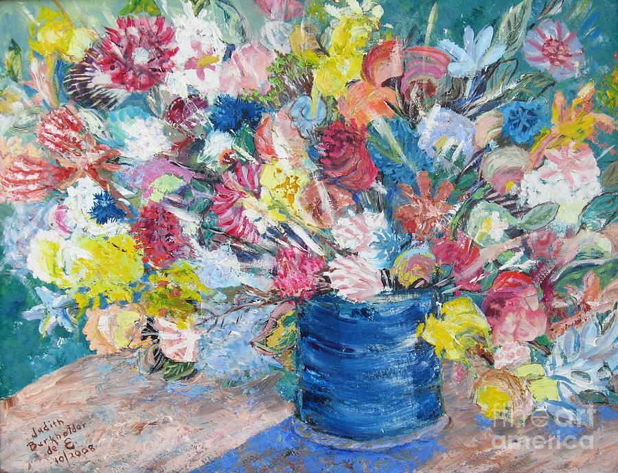 Flowers Painting - Bouquet 1 - Sold by Judith Espinoza
