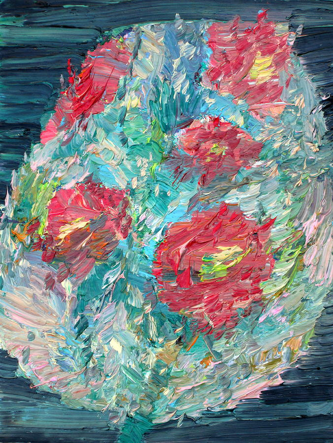 Bouquet Painting - Bouquet by Fabrizio Cassetta