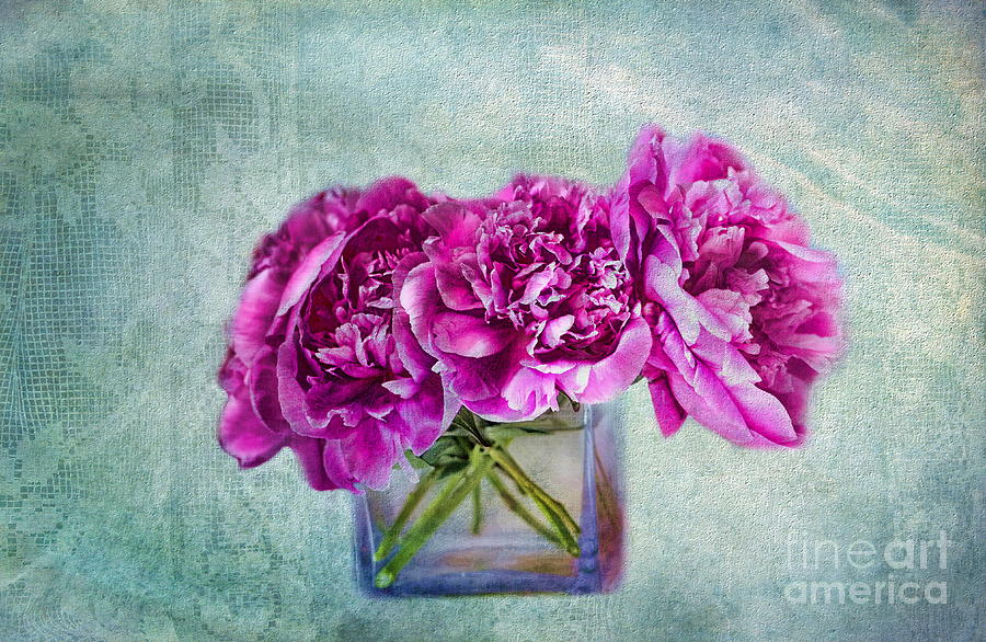 Peony Photograph - Bouquet Of Beauty by Andrea Kollo