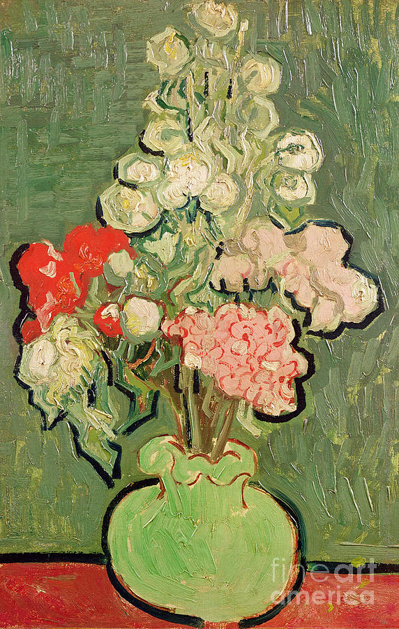 Bouquet Of Flowers Painting By Vincent Van Gogh