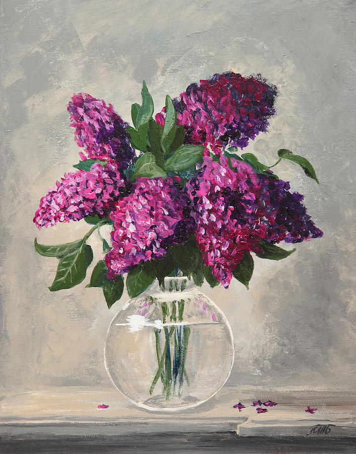 Bouquet of Lilac by Masha Batkova