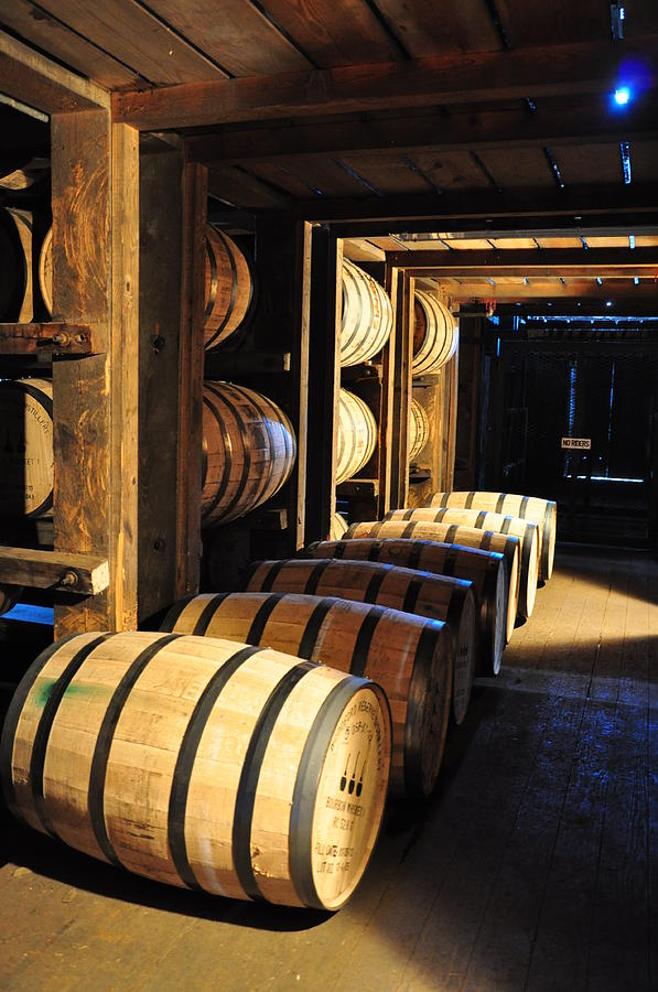 Bourbon Barrels by Russell Todd