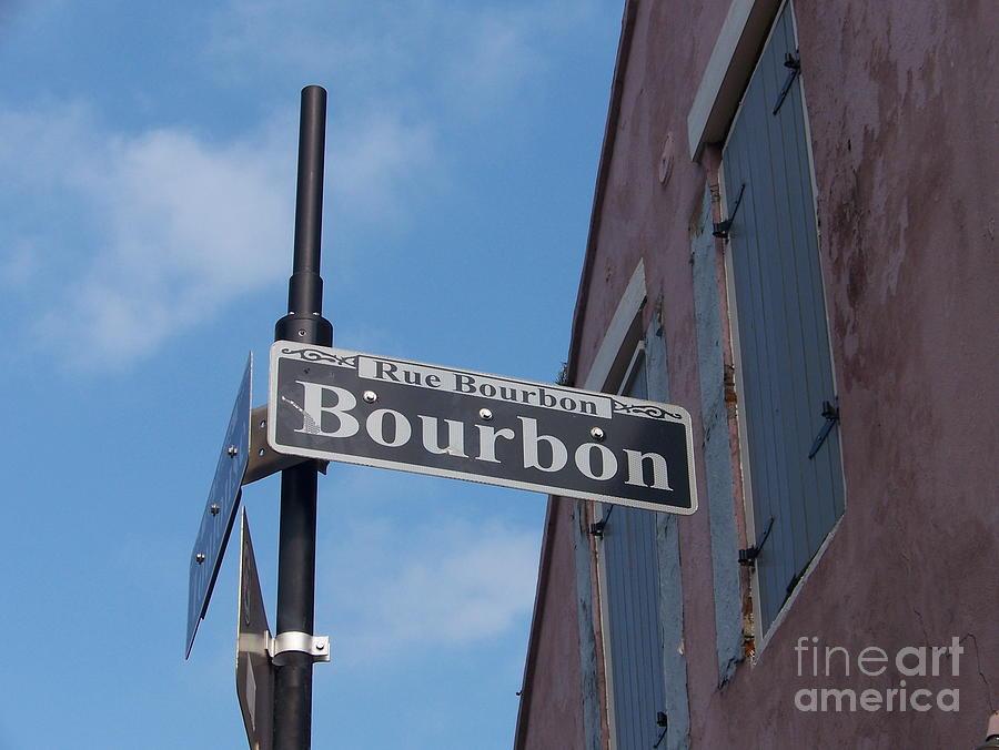 Bourbon Street Photograph - Bourbon Street by Kevin Croitz