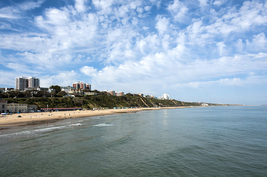 Bay Photograph - Bournemouth by Svetlana Sewell