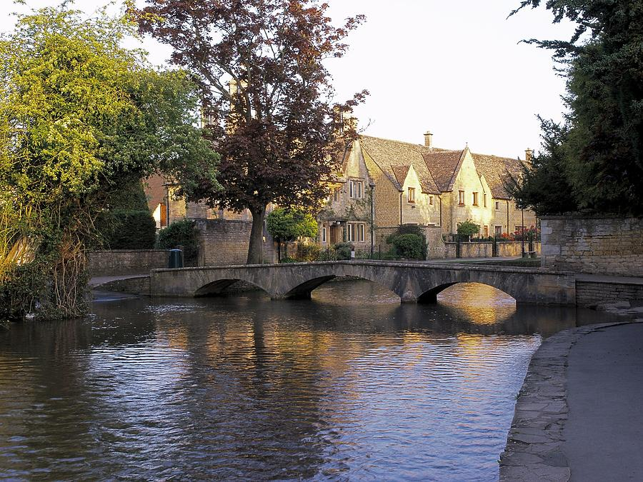 River Photograph - Bourton On The Water 5 by Ron Harpham