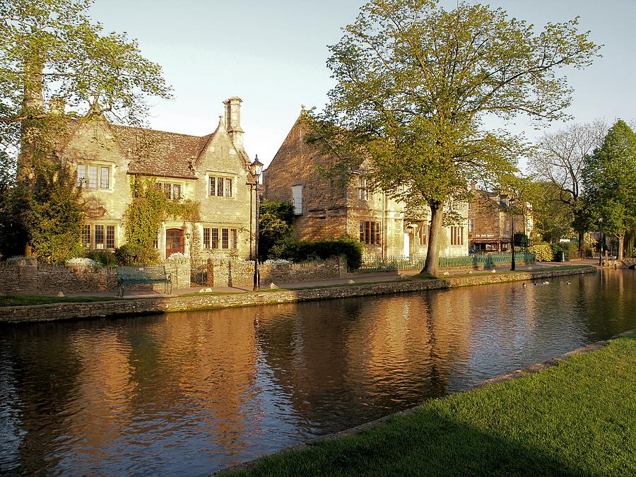 River Photograph - Bourton On The Water by Ron Harpham