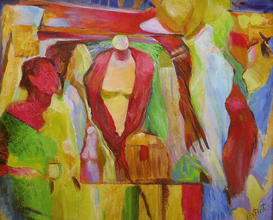 Boutique Painting - Boutique Arts Festival by Natalya Shvetsky