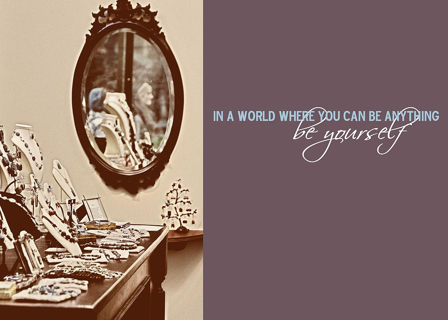 Bryant Photograph - Boutique Quote by JAMART Photography