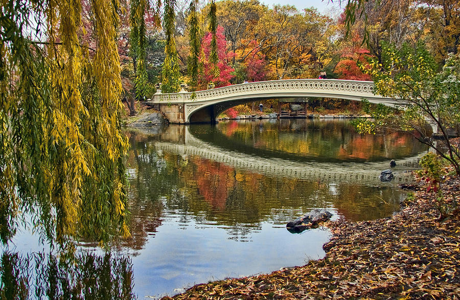 Central Photograph - Bow Bridge by June Marie Sobrito