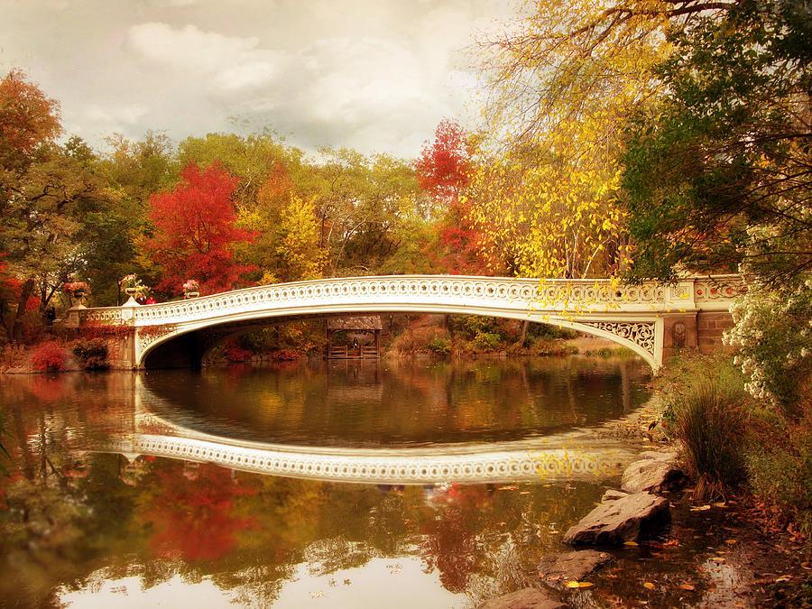 Bow Bridge Reflected Photograph