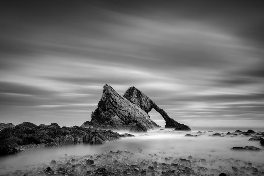 Bow Fiddle Rock Photograph - Bow Fiddle Rock 2 by Dave Bowman