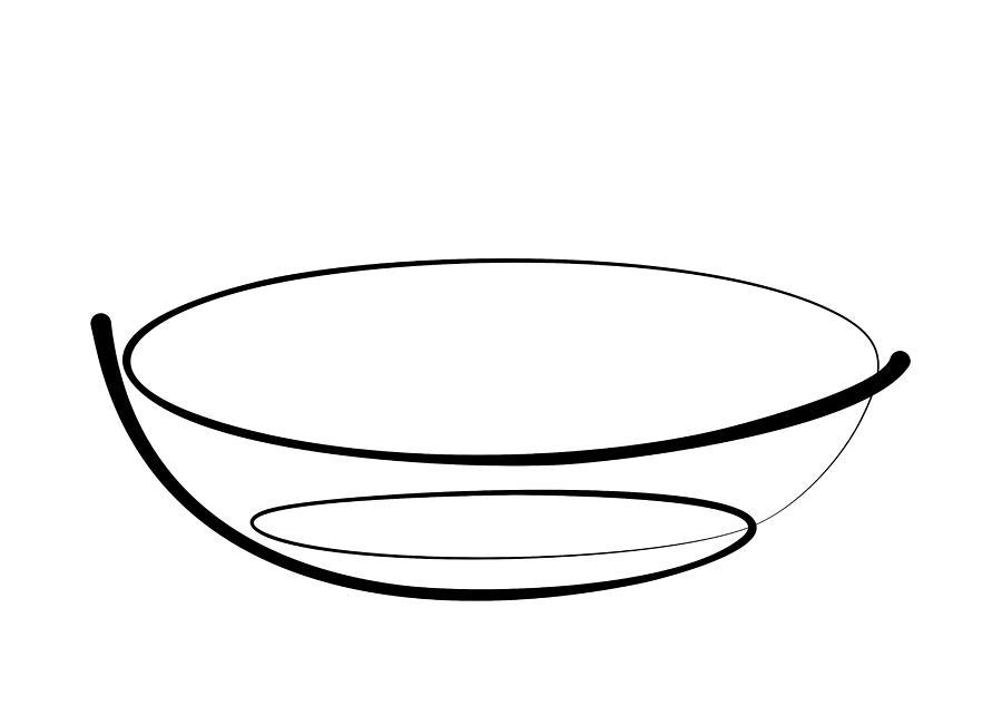 Bowl line by Pal Szeplaky
