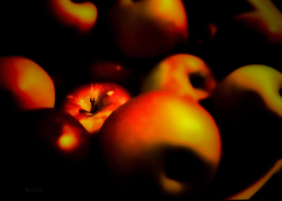 Apple Photograph - Bowl Of Apples by Bob Orsillo