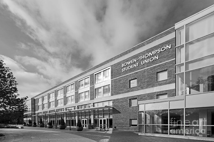 American Photograph - Bowling Green State University Bowen-thompson Student Union by University Icons