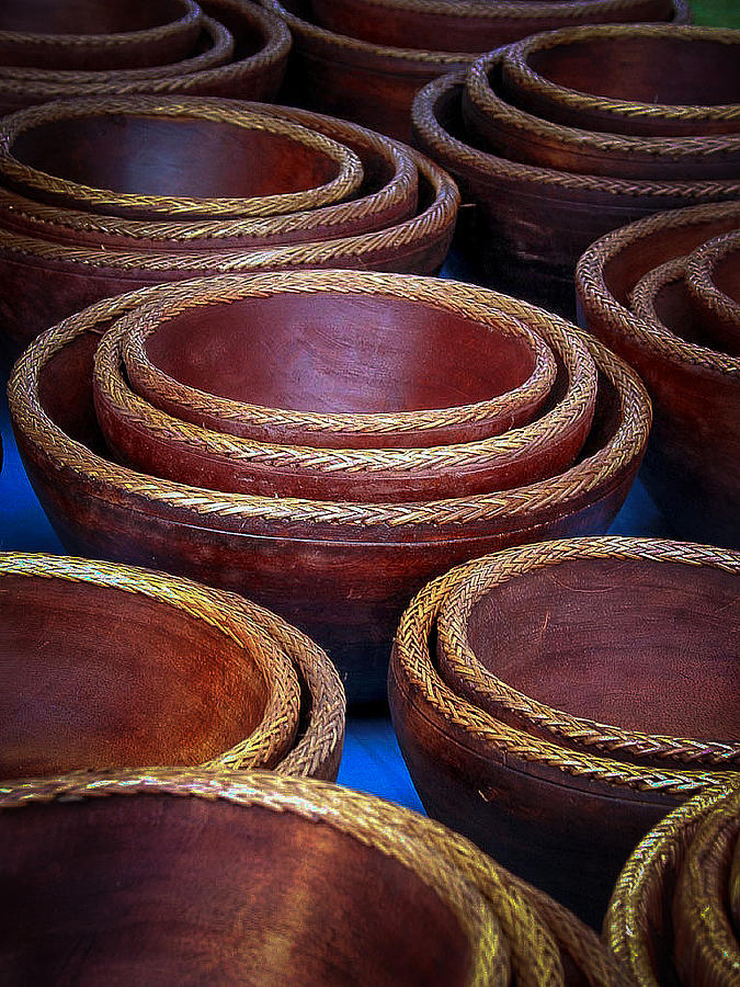 Bowls Photograph - Bowls by Connie Anderson