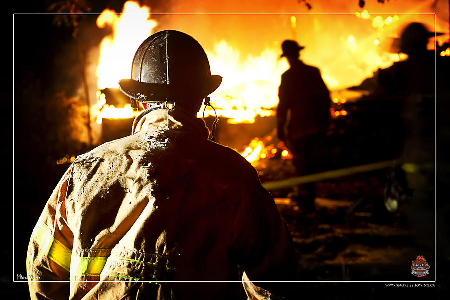 Firefighter Photograph - Box Alarm by Mitchell Brown