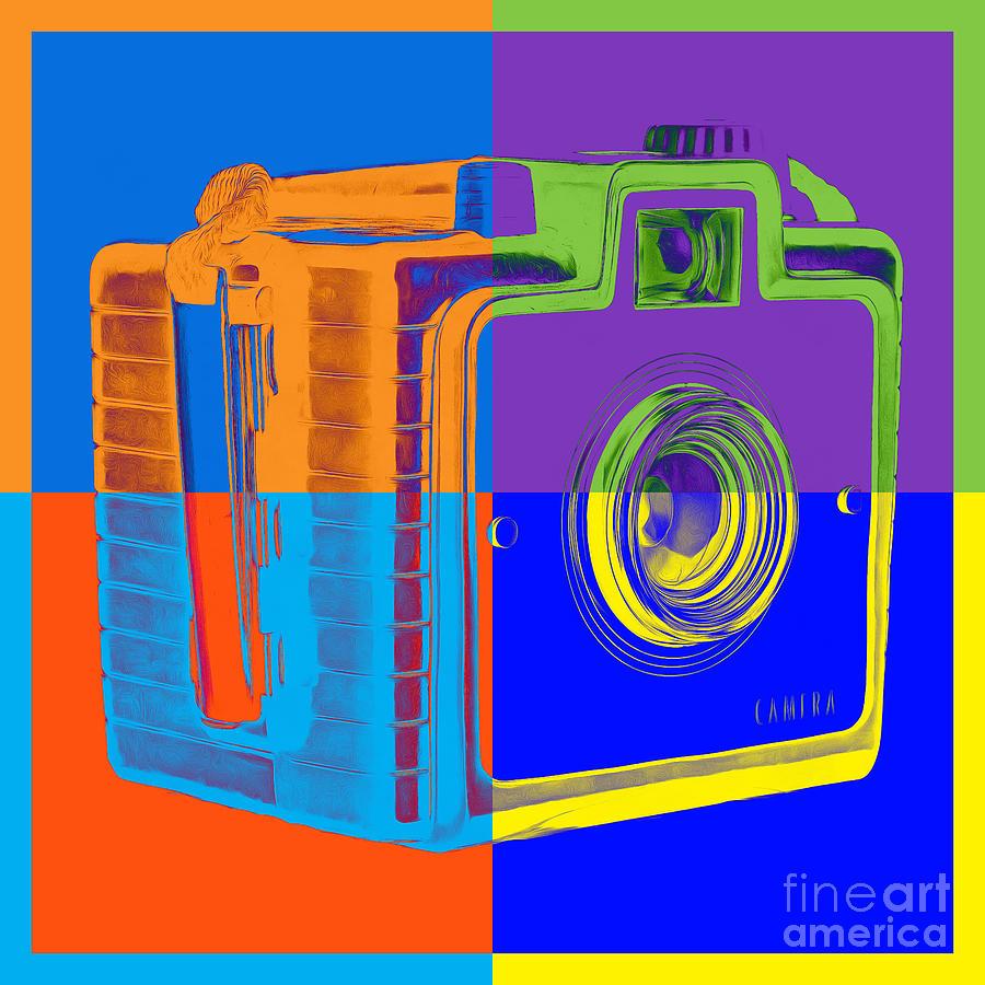 Box Camera Pop Art 1 Photograph