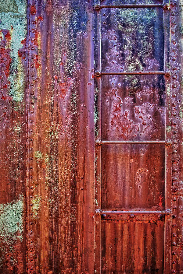 Abstract Photograph - Boxcar Ladder by Marcia Colelli