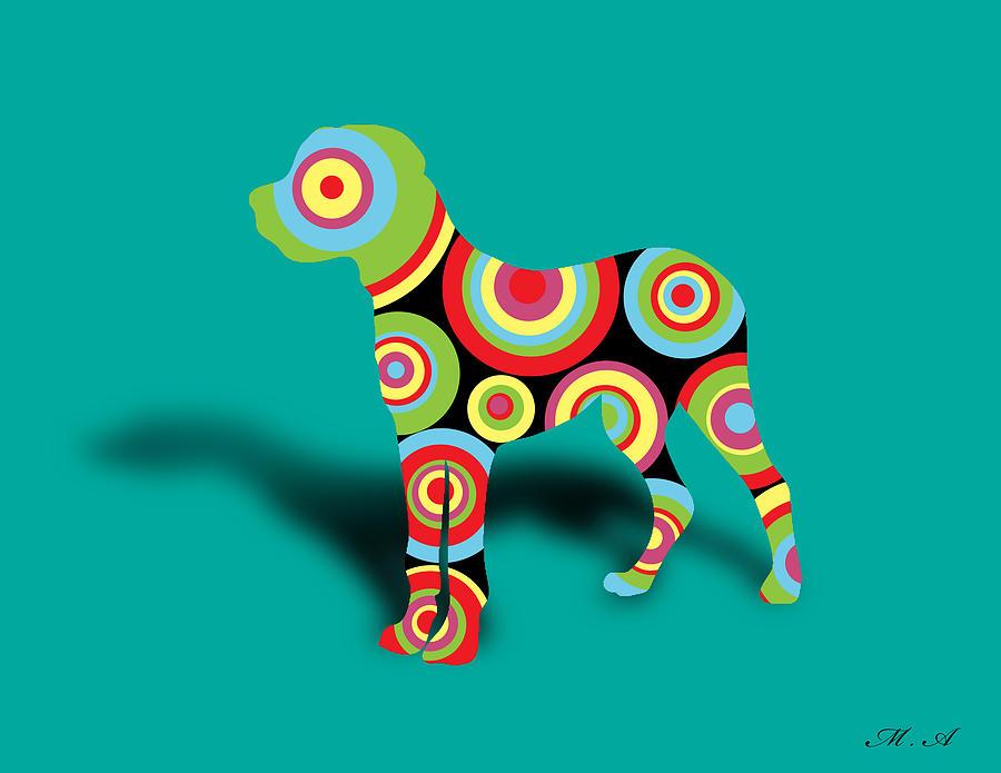Dog Digital Art - Boxer by Mark Ashkenazi