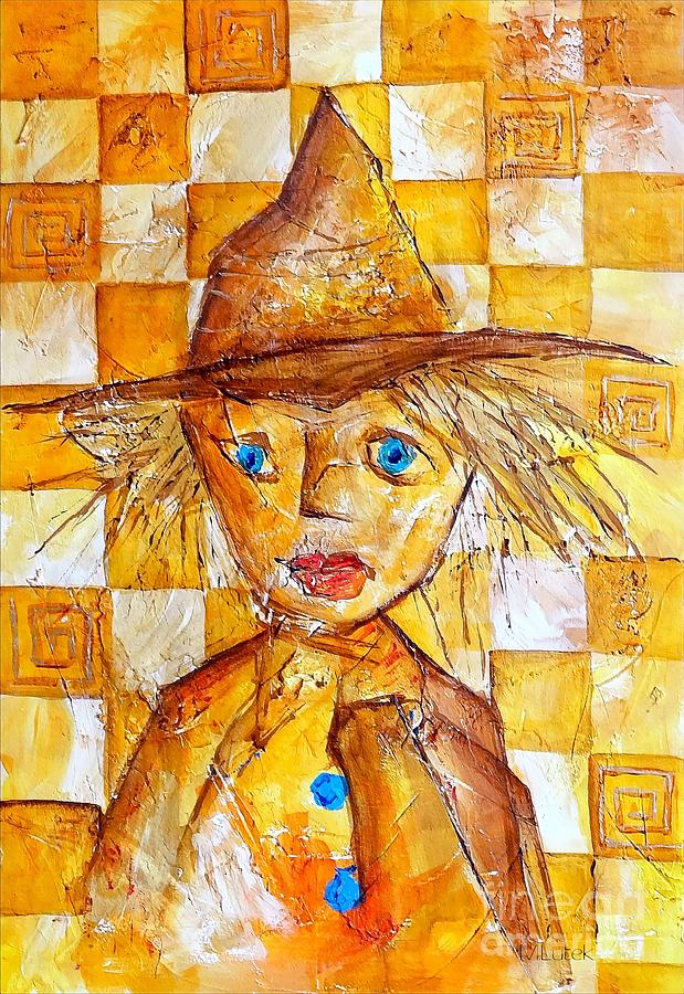 Boy Painting - Boy 621-12-13 Marucii by Marek Lutek