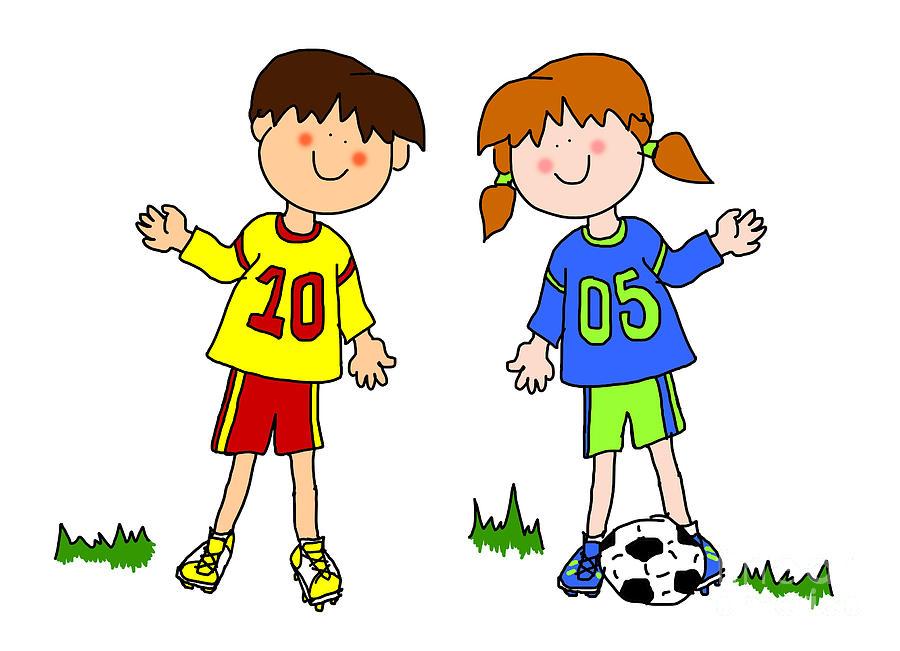 clip art girl Image and of boy