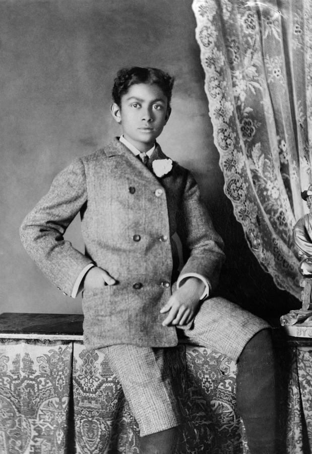 1899 Photograph - Boy, C1899 by Granger