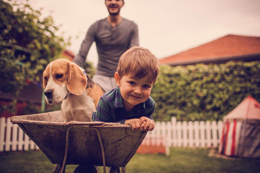 Boys Having Fun Photograph by AleksandarNakic