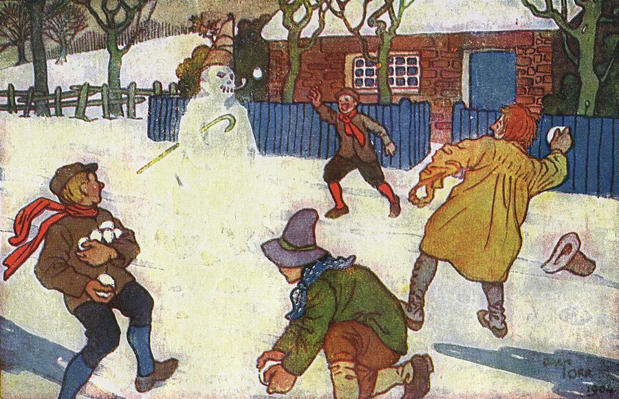 snowballing boys