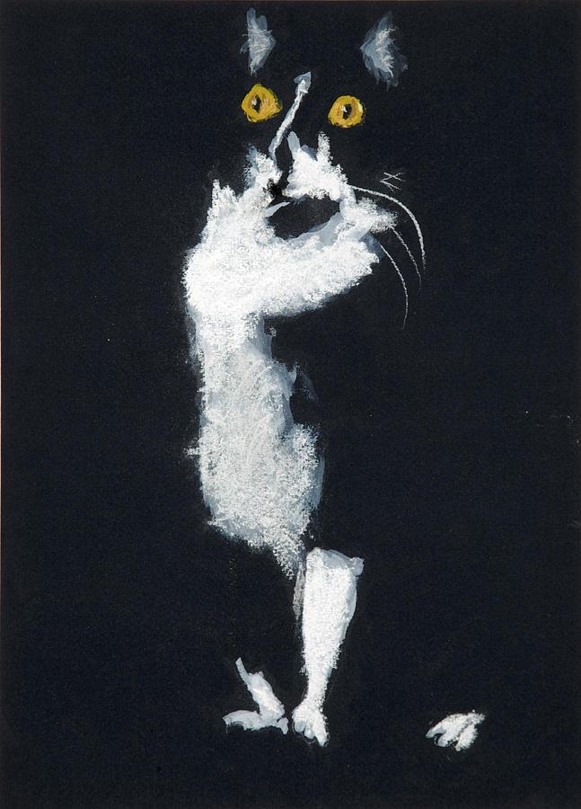 Cat Pastel - Bozette by Jocelyn Paine