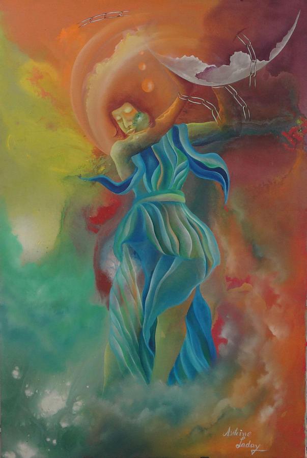 Women Power Painting - Brake Free by Antoine Laday
