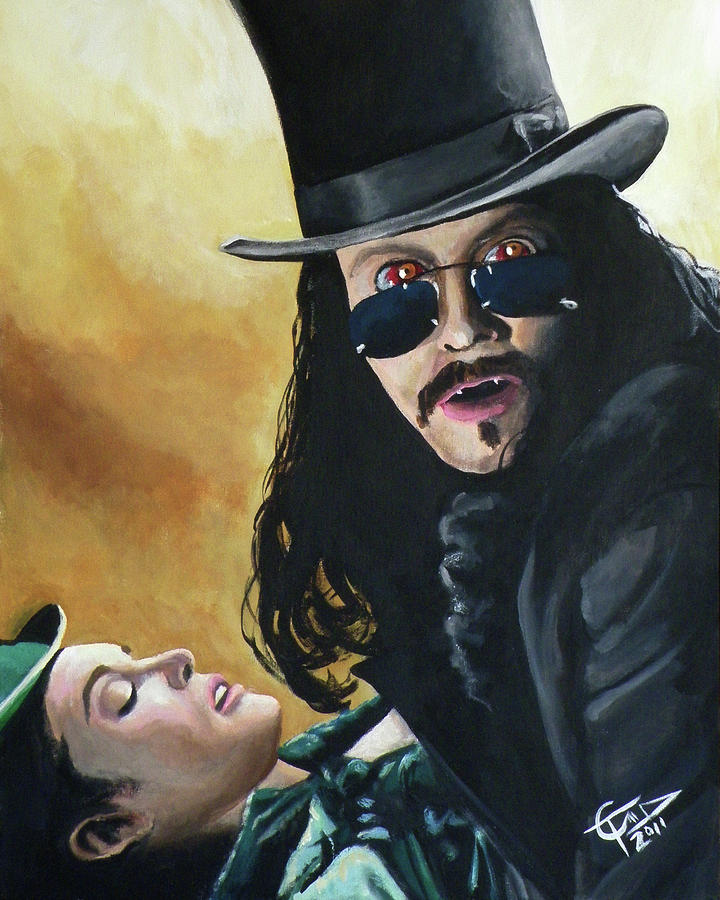 Dracula Painting - Bram Stokers Dracula by Tom Carlton