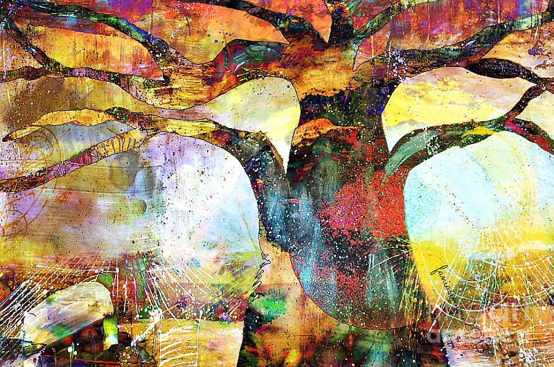 Fania Simon Painting - Branching Out by Fania Simon