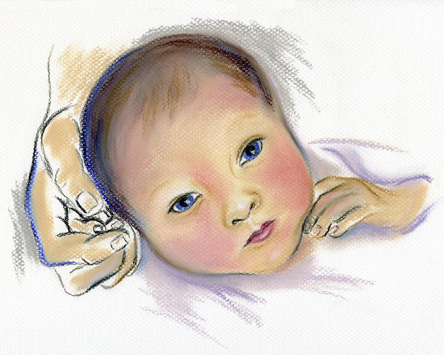 Portrait Pastel - Brand New Sibling by MM Anderson