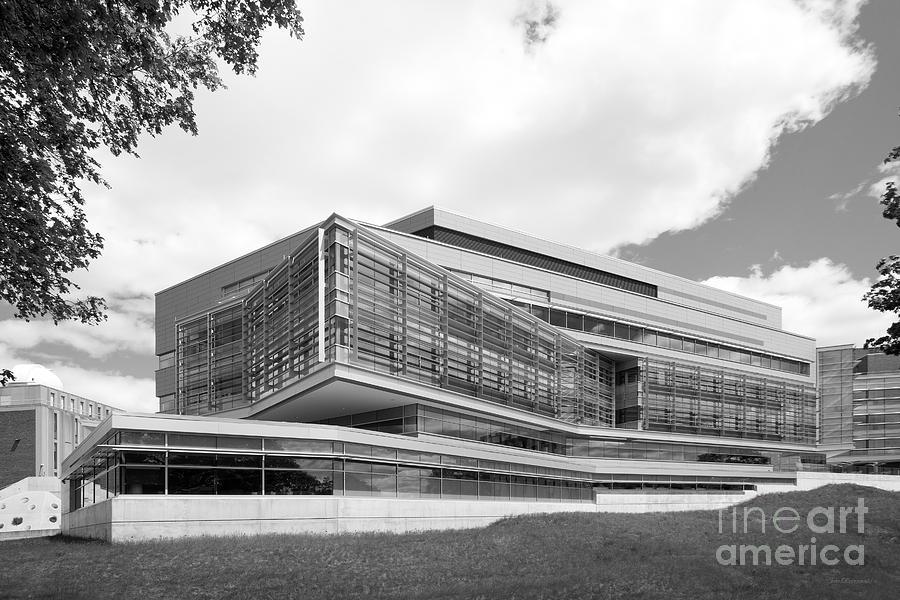 Brandeis Photograph - Brandeis University Carl J. Shapiro Science Center by University Icons