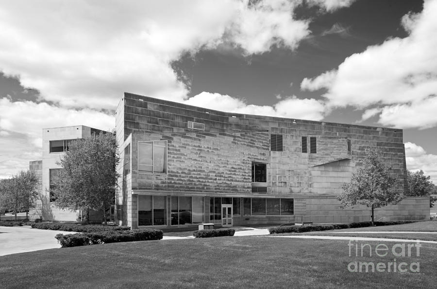 Brandeis Photograph - Brandeis University Shapiro Campus Center by University Icons