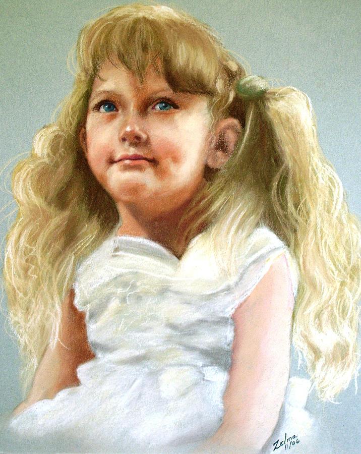 Pastel Painting - Brandi by Zelma Hensel