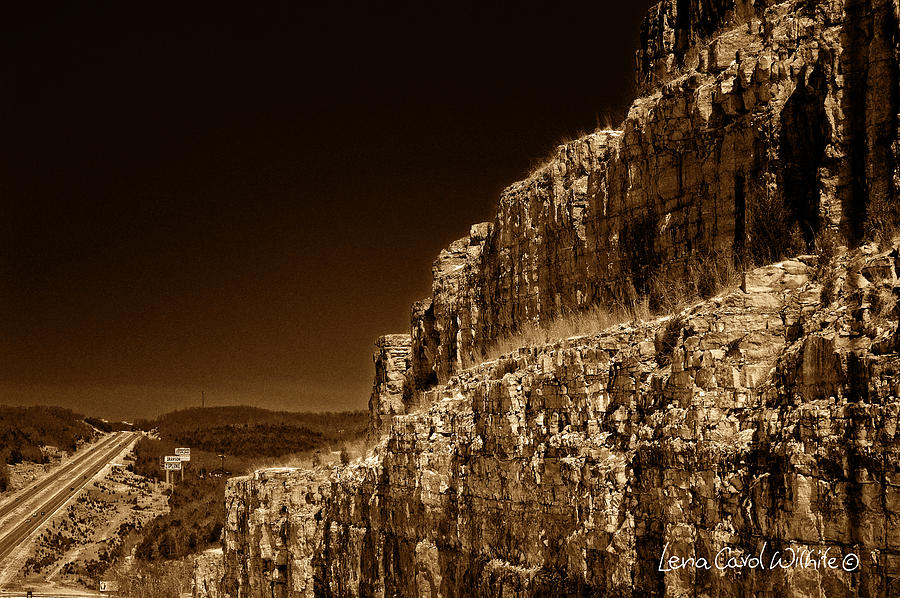 Landscape Photograph - Branson Travels by Lena Wilhite