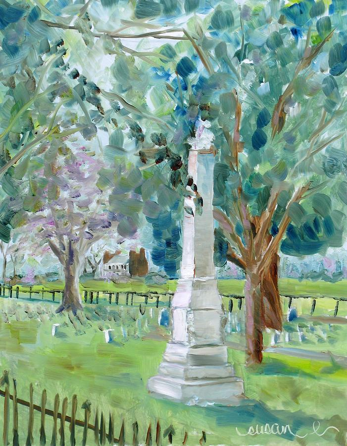 Plantation Painting - Brave And Noble by Susan E Jones