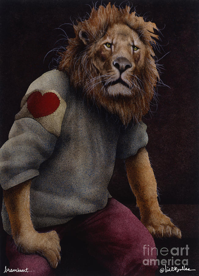 Will Bullas Painting - Braveheart... by Will Bullas
