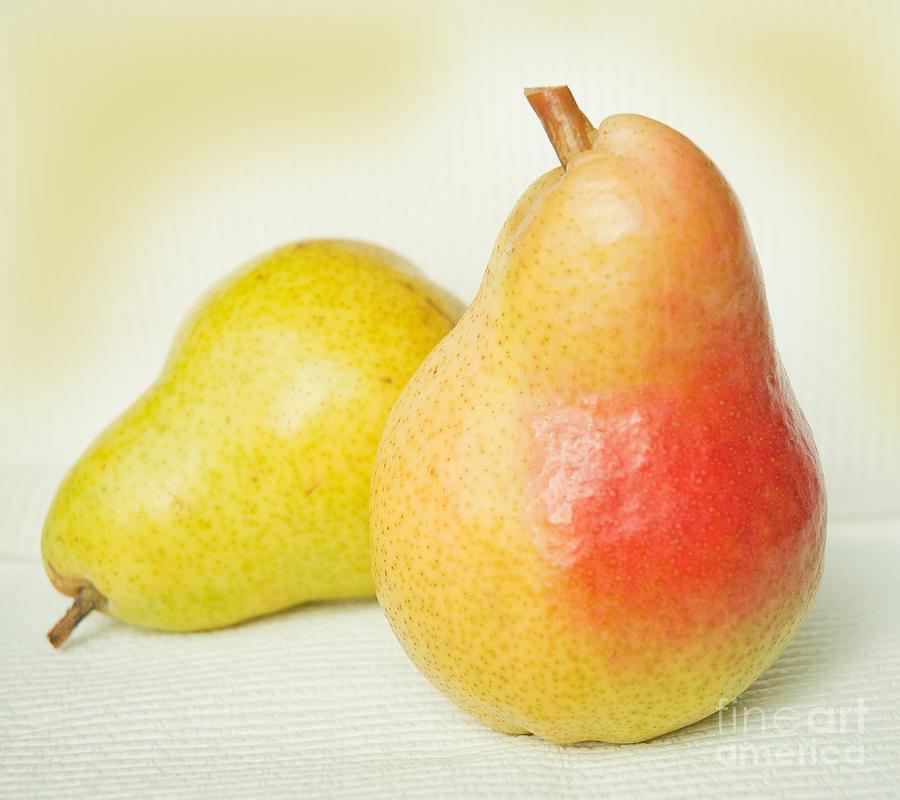 Yellow Photograph - Brazen Pear by Lena Wilhite