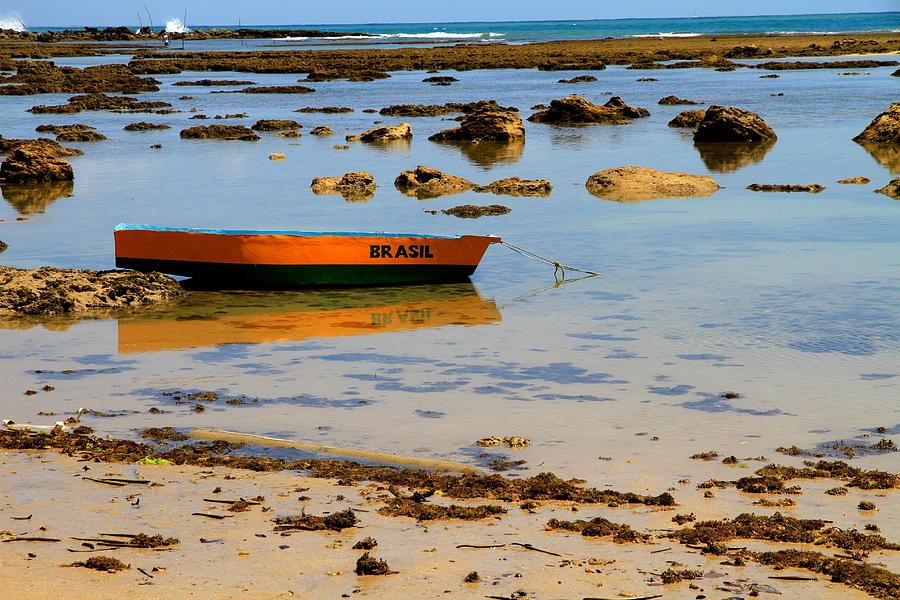 Brazil Photograph - Brazilian Boat by Arie Arik Chen