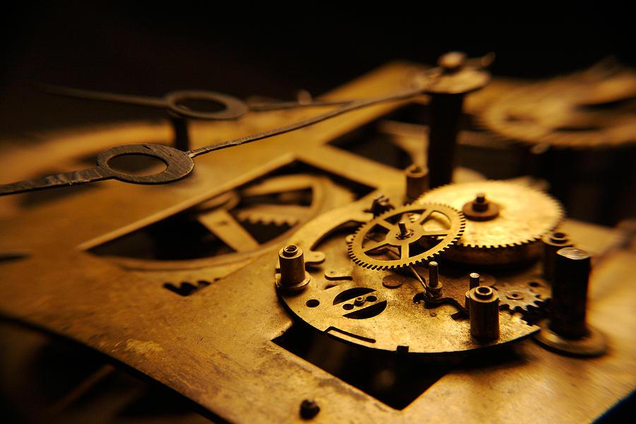 Clock Photograph - Breach Of Time by Jon Emery
