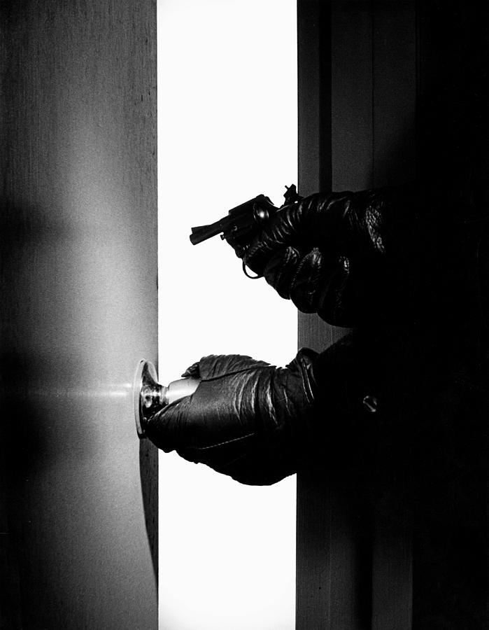 Pistol Photograph - Break-in by Murray Bloom