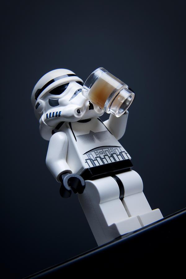 Lego Photograph - Break Time by Samuel Whitton
