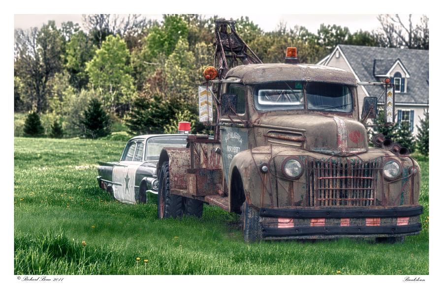 Automobile Photograph - Breakdown by Richard Bean